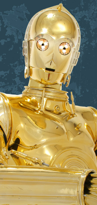 C3PO C-3PO Droid Prop Wearable Costume Replica, by TK409 - C3POBuilders.com