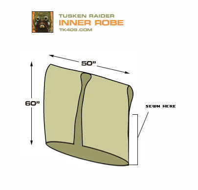 how to make tusken raider robes